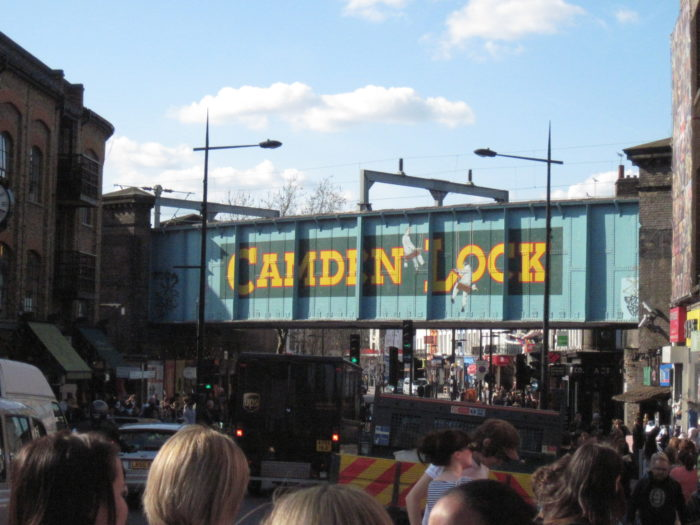 Camden Lock in the summer of 2010