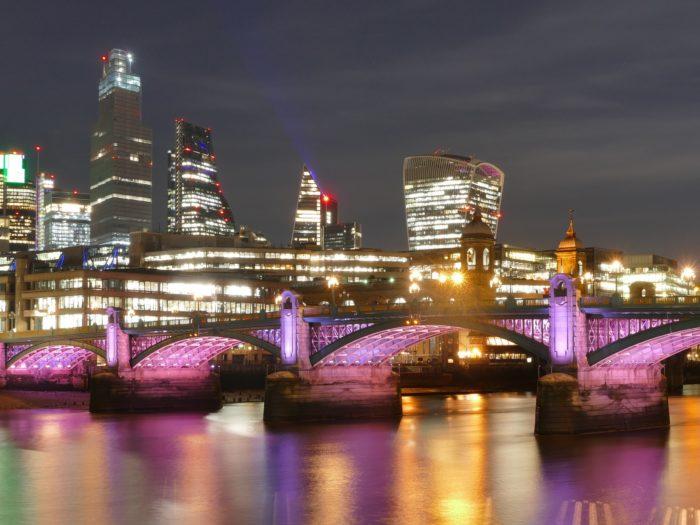 Illuminated River, London January 2020