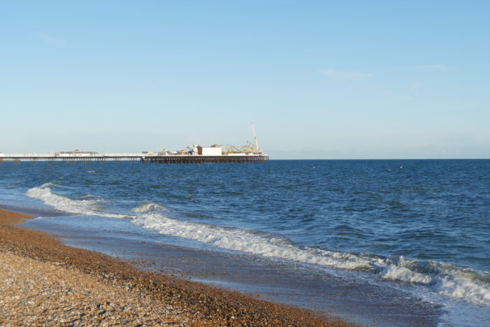 Brighton Beach and Pier, May 2017