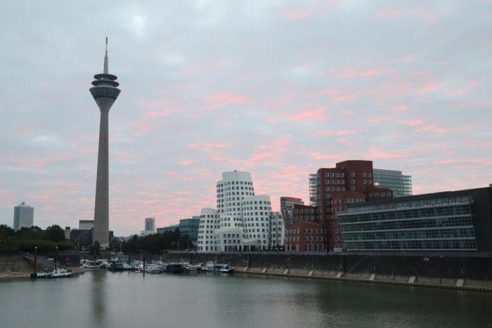 Sunrise Harbour Düsseldorf