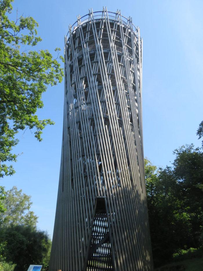 Observation tower, Sauerland Park, 2021