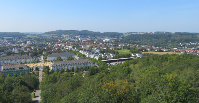 View from the Tower, Sauerland Park, 2021