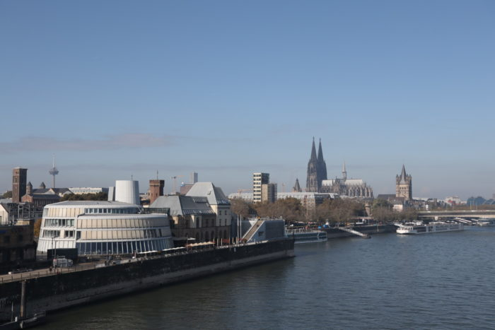 Chocolate Museum and Cathedral in Cologne, October 2021