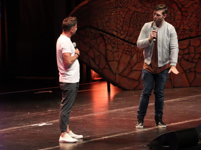 Craig Parker & Liam McIntyre at MagicCon 2021
